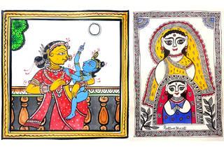 Traditional Indian art online workshops