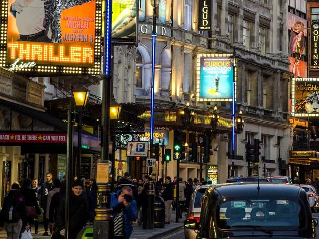 London's West End theatres