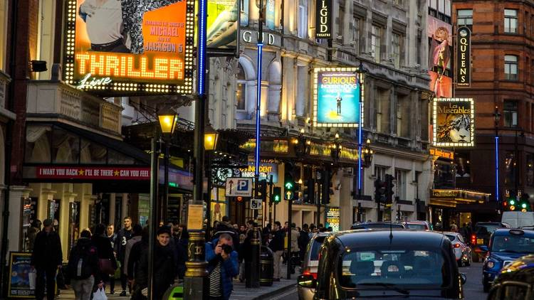 London's West End theatres
