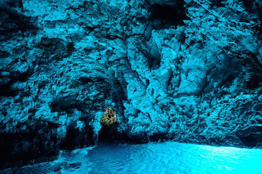 Blue cave, vis, bisevo