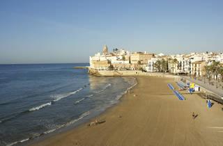 Reobren les platges de Sitges i Vilanova