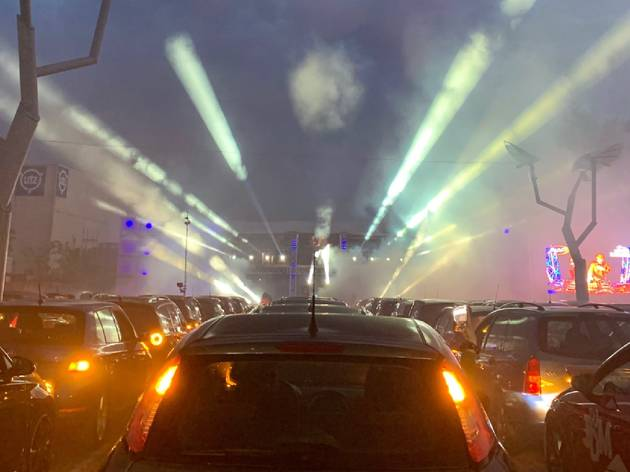 drive in rave in Germany