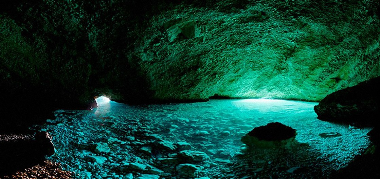 Green cave, Vis