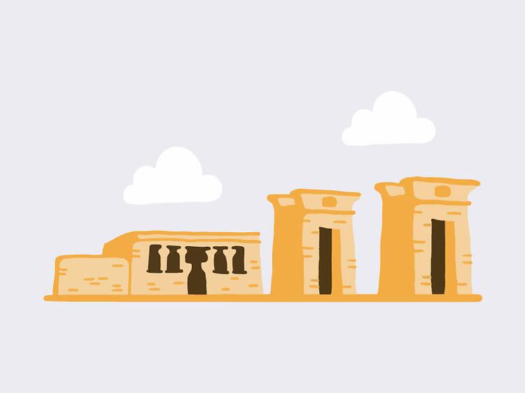 Piscis: Templo de Debod