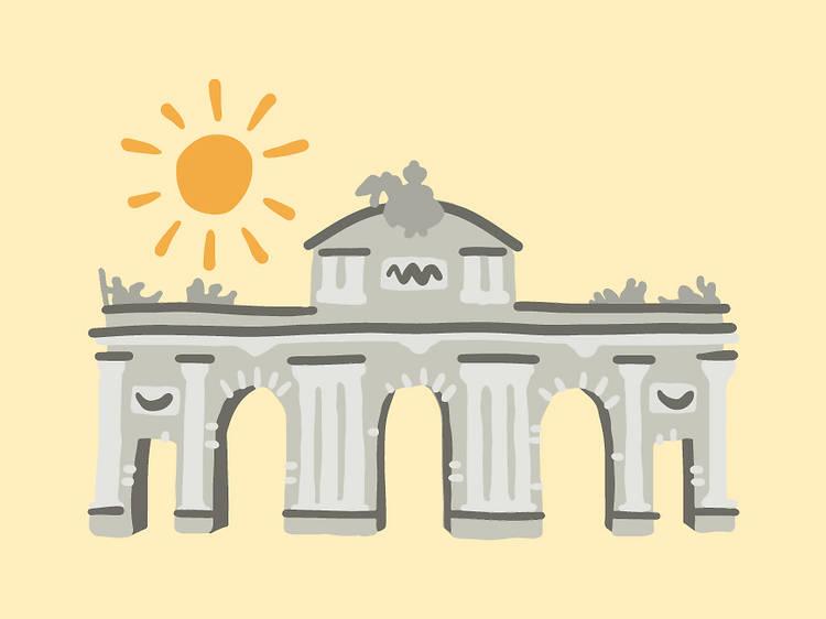 Tauro: Puerta de Alcalá