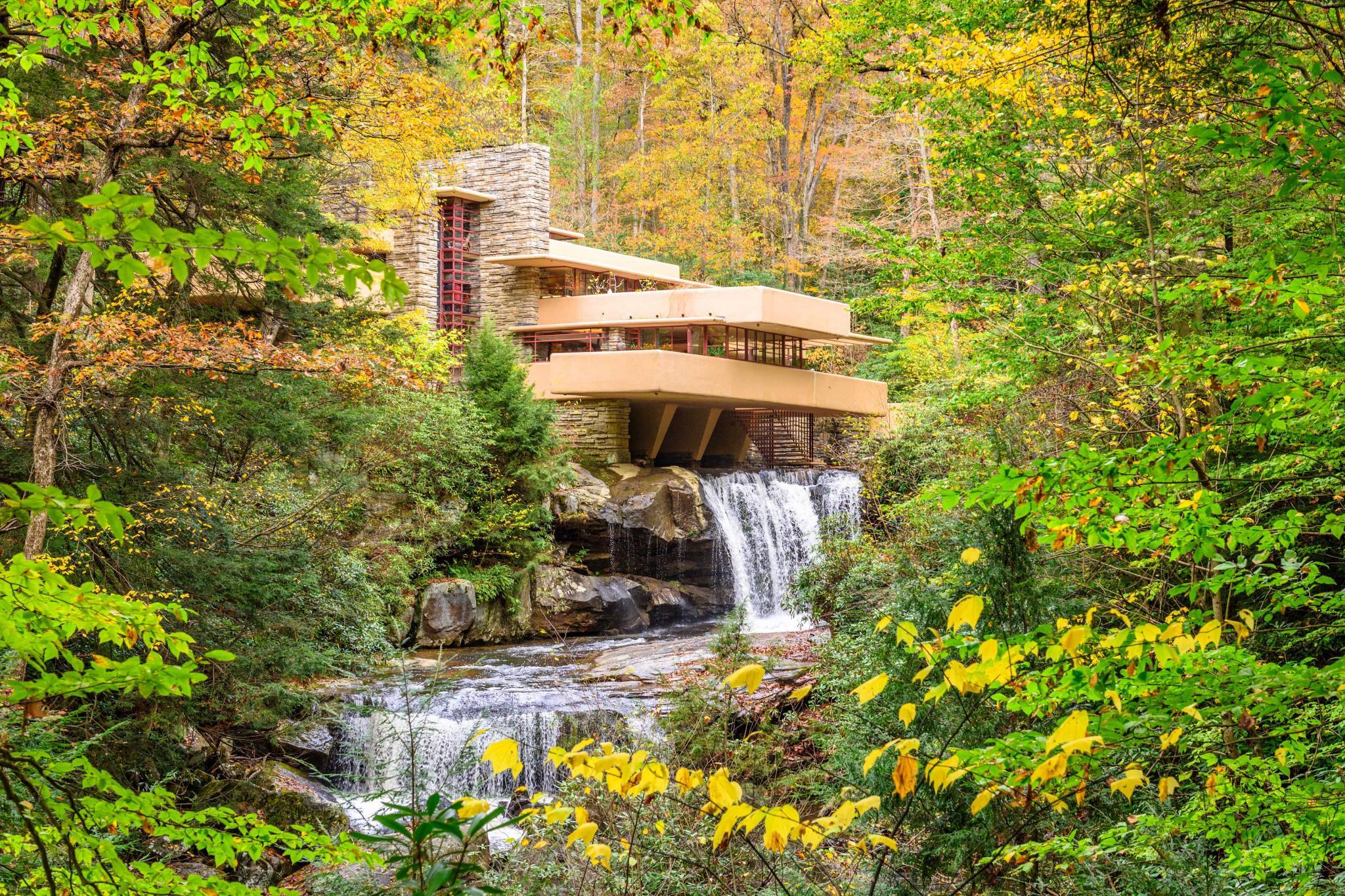 Weekly virtual tours of Frank Lloyd Wright buildings