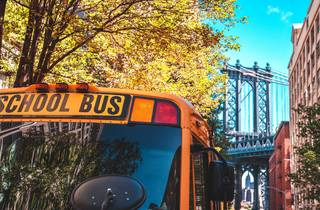 School bus in brooklyn