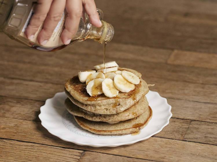 #FondDePlacard36- Les pancakes de Back in Black Coffee