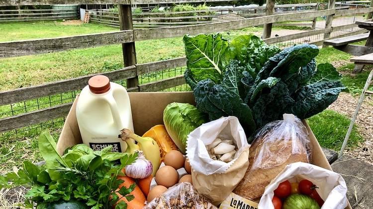 Farm Cafe produce box
