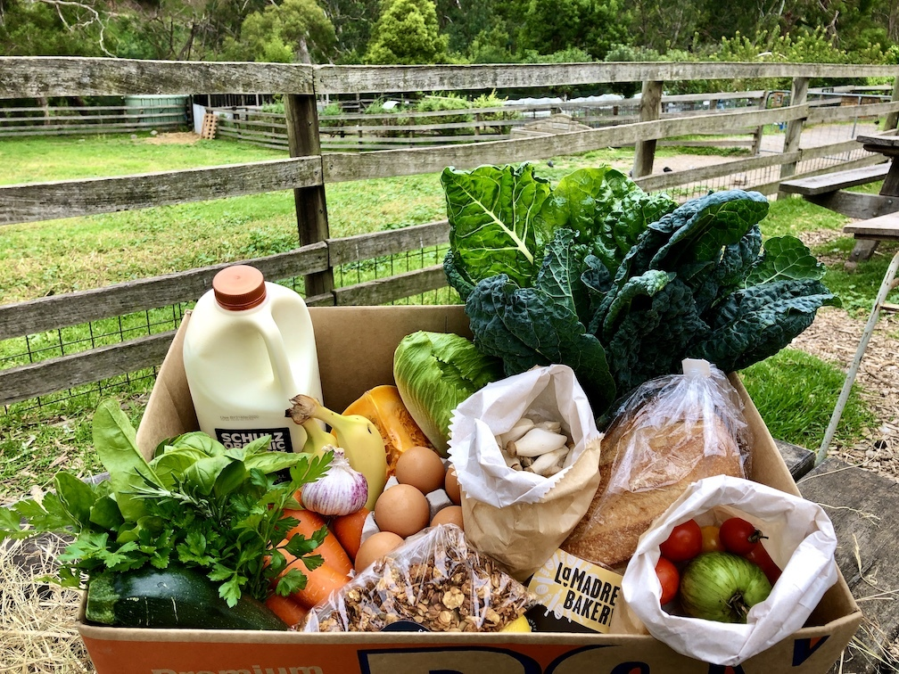 Farm Cafe produce box