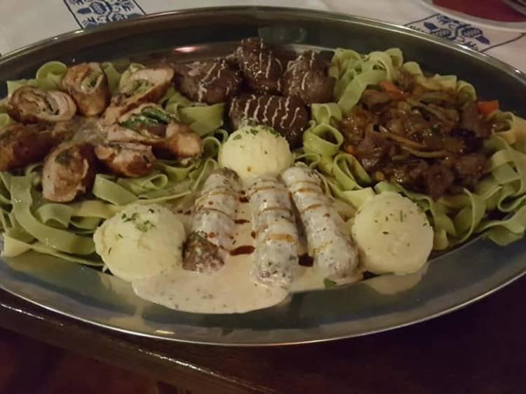 Devour ćevapi and grilled meats at Sofra