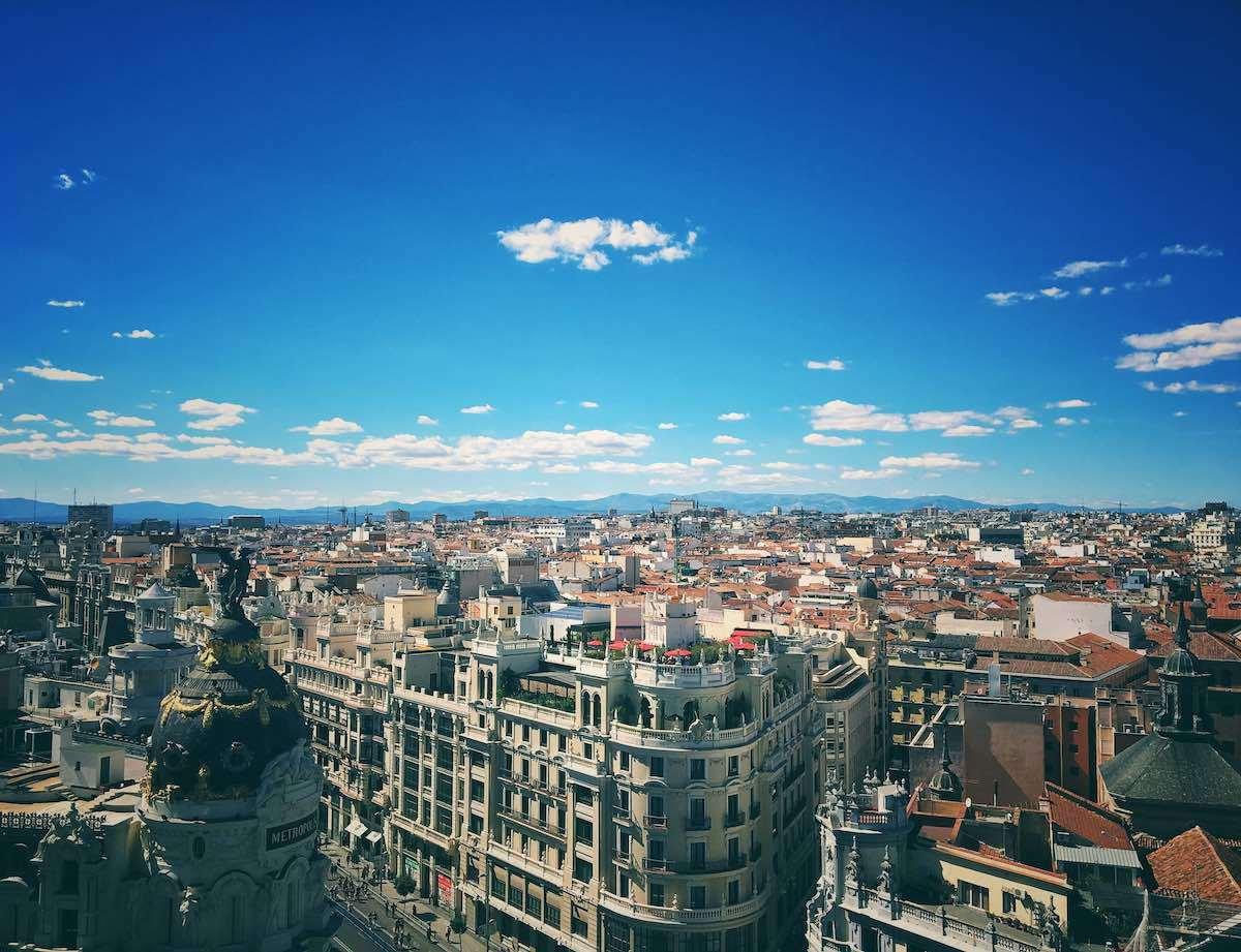 Así es la nueva normalidad en Madrid