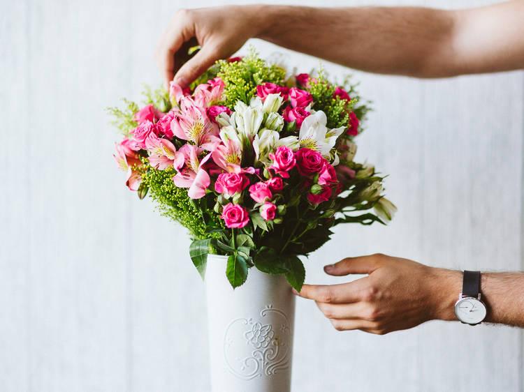 Flores a domicilio en la CDMX