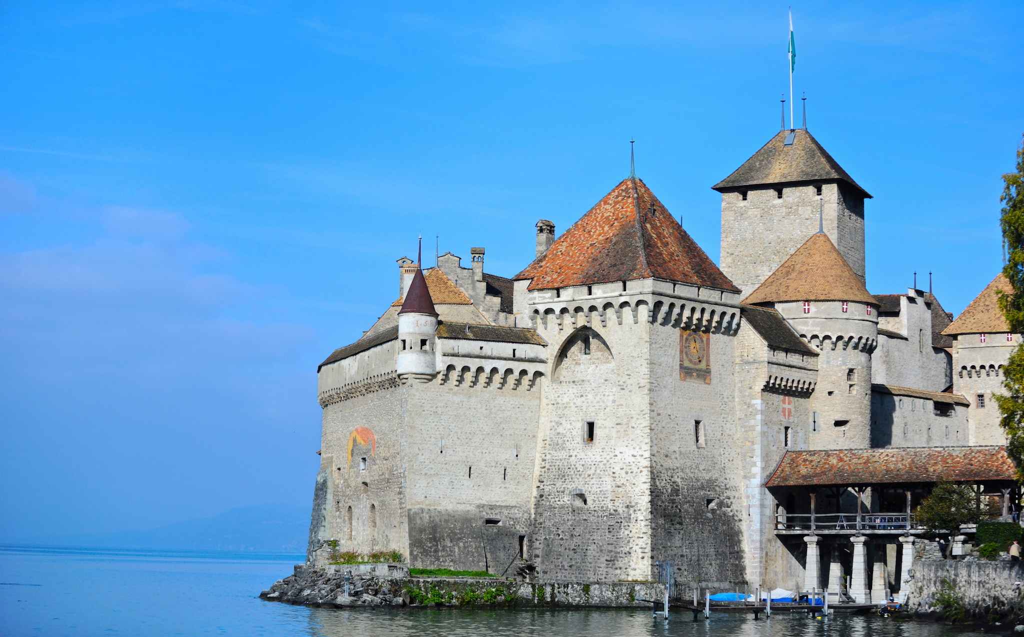 Chillon Castle, for family experiences promition.