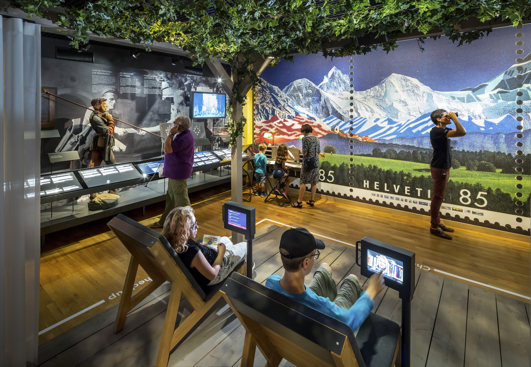 Museum of Communication, for family experiences promotion