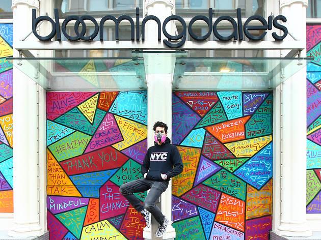 Marco Santini, Soho, Broadway, street art, New York, Empire State Building, Earth Day