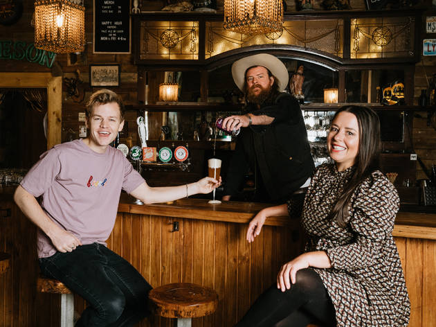 Joel Creasey and Myf Warhurst Coopers Live, Loud & Local