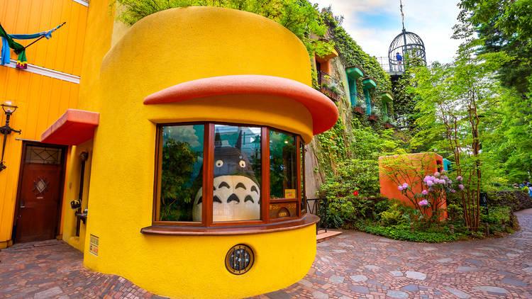 Ghibli Museum facade, Totoro