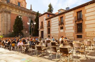 Terrace in La Latina, Madrid