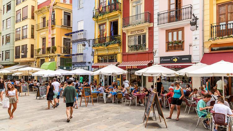 Terrace in Madrid