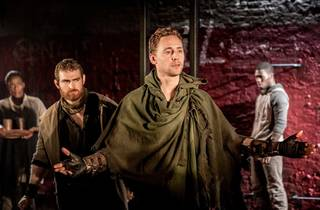 Tom Hiddleston in Coriolanus