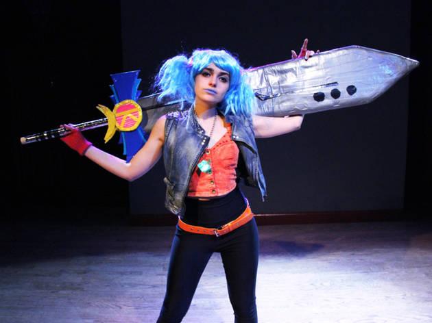 Madeleine Bundy as Kapow-i GoGo in Kapow-i GoGo Gooo!