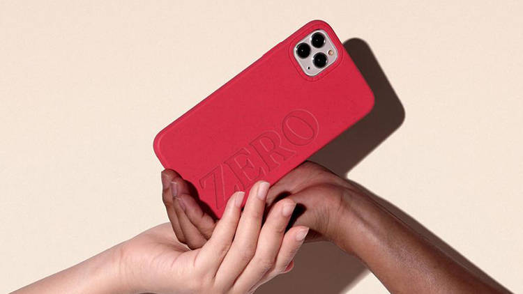 Funda compostable y biodegradable CASETiFY para iPhone