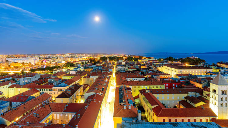Zadar night