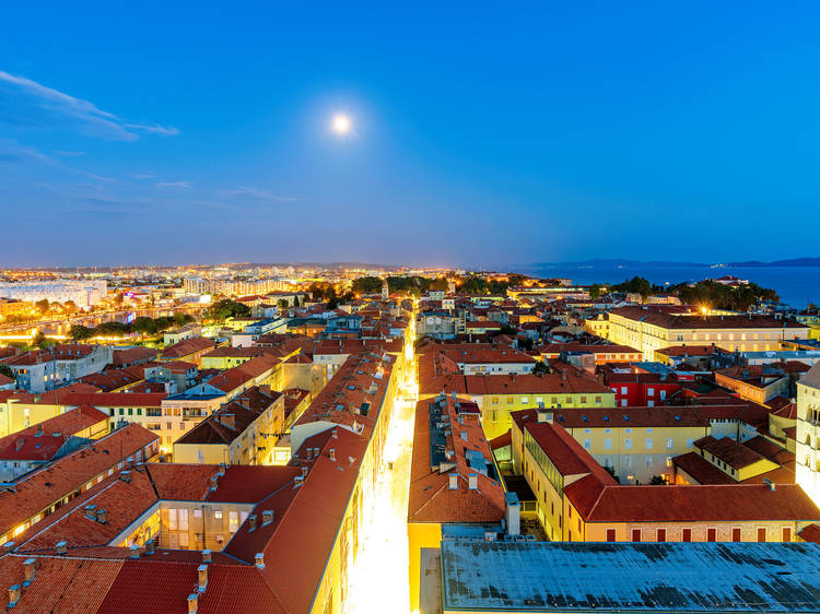Zadar's Full Moon Festival is the place to be from July 22-24