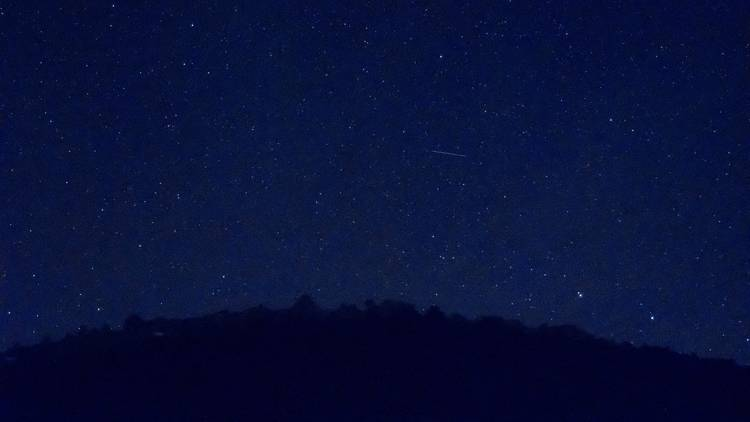 Catch a falling star on the northern side of Vis island