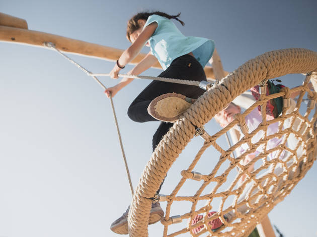 Gstaad playground for family experiences promotion