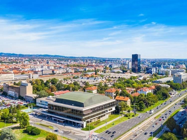 Zagreb's Lisinski Concert Hall begins 24/7 outdoor music programme