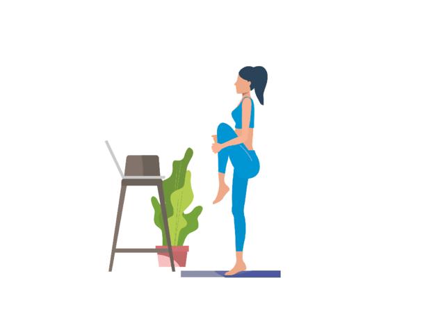 Ilustração, A Fazer Exercício