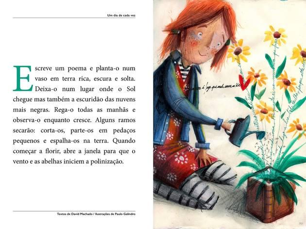 Ilustração, Desenho, Contos de Crianças, Um Dia de Cada Vez