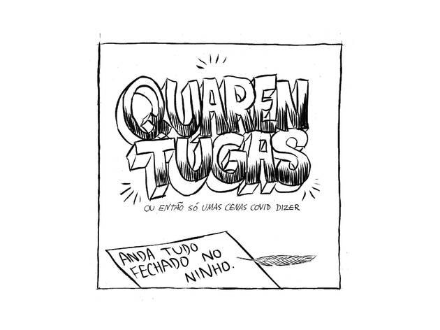 Desenho, Ilustração, Quarentugas, André Oliveira, Pedro Carvalho