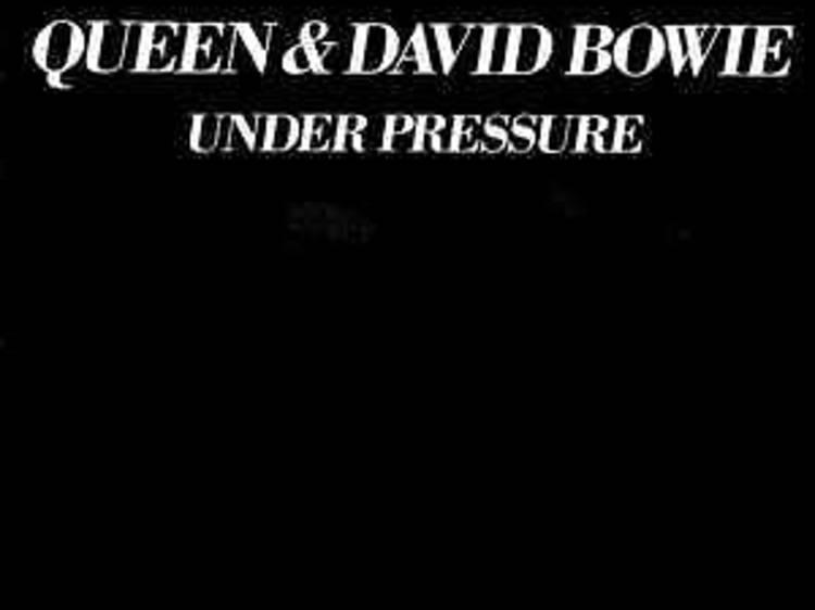 'Under pressure', Queen & David Bowie