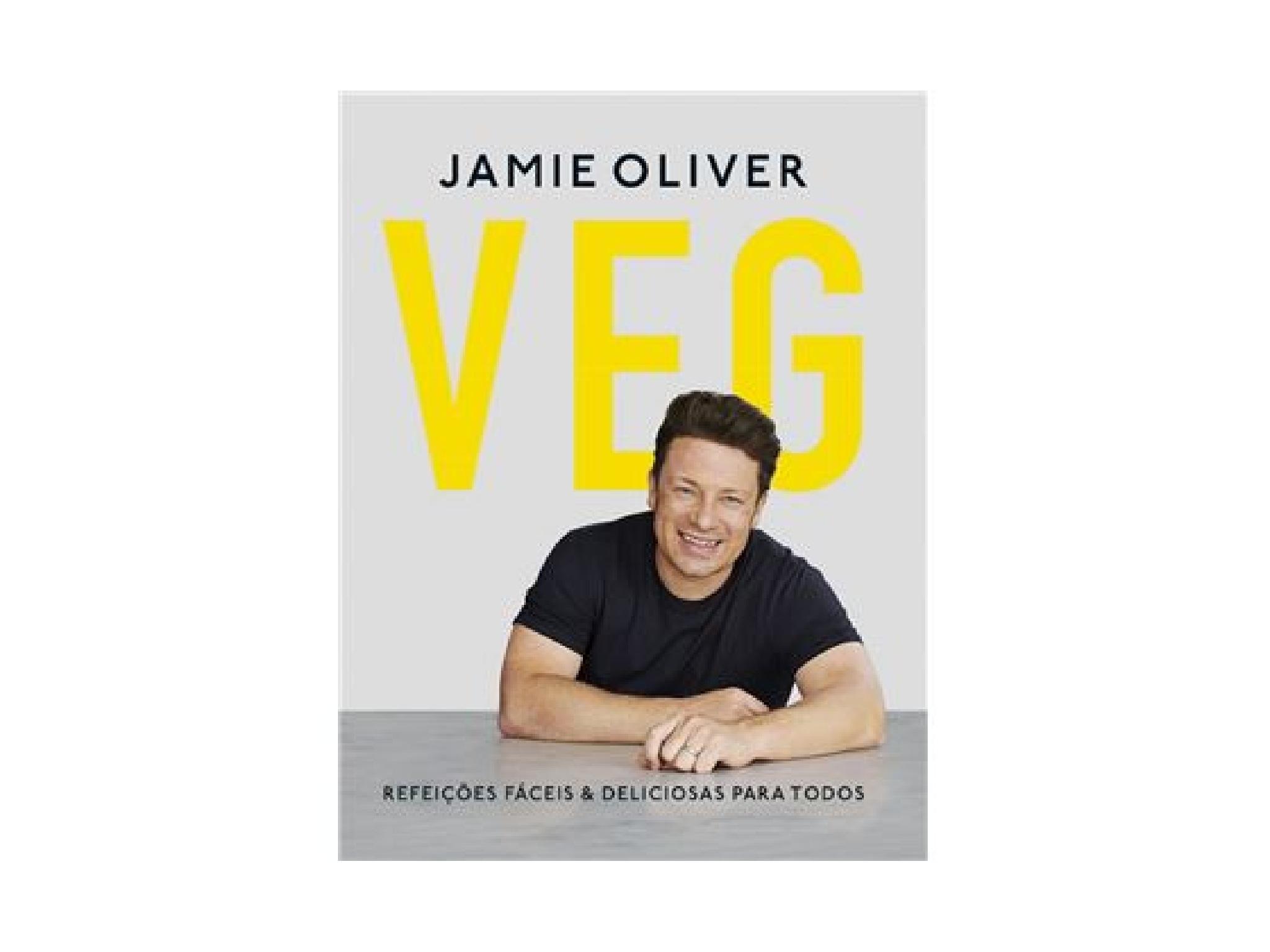 Livro, Veg, Jamie Oliver