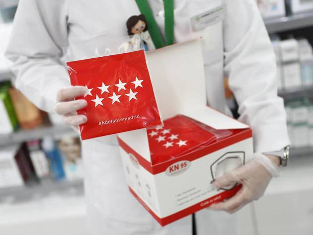 Arranca un nuevo reparto de mascarillas gratis en las farmacias Madrid
