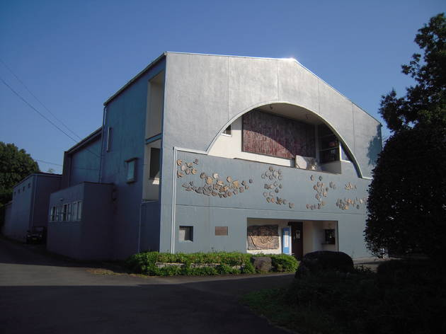 原爆の図 丸木美術館