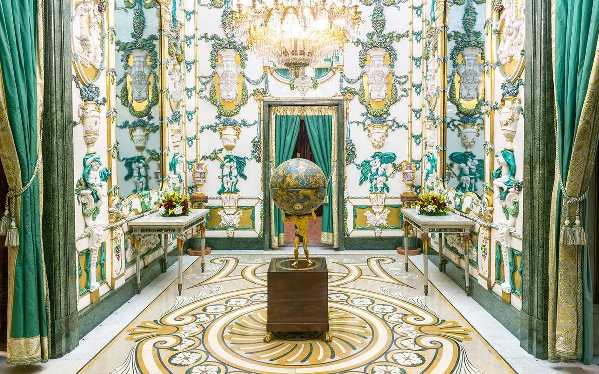 Gabinete de porcelana del Palacio Real de Madrid