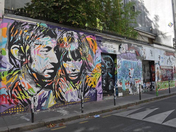 Parcours rue de Verneuil