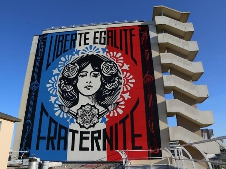 Parcours street art du Boulevard 13