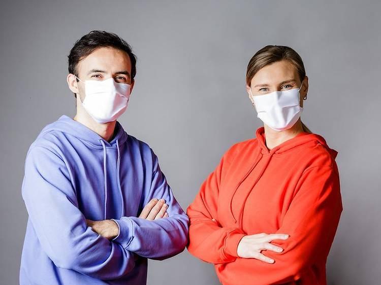 3. Taparás boca e nariz com máscara