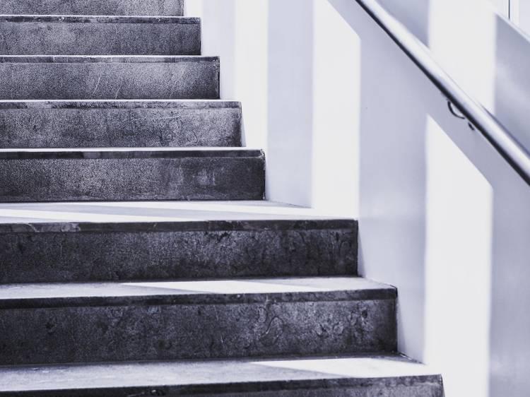 5. Evitarás elevadores