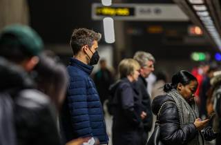 london underground face masks