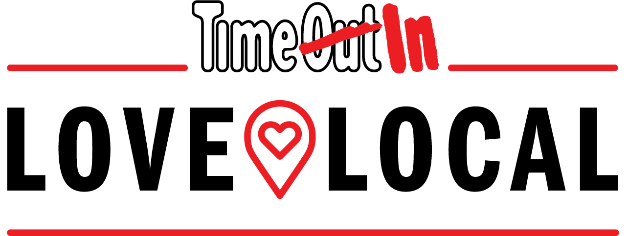 Logo de la campagne Time Out Love Local