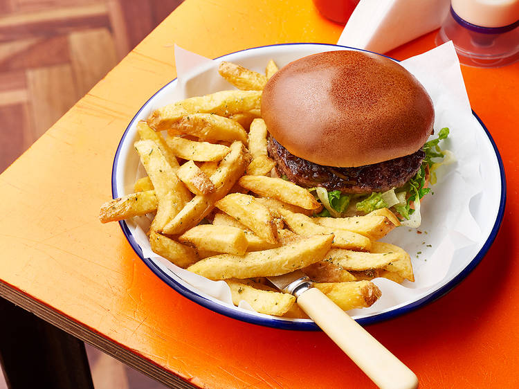 Honest Burgers' famous rosemary salted chips