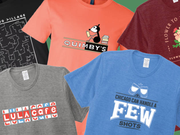 Support Lula Cafe, Quimby's and more local businesses with a new line of fundraising T-shirts
