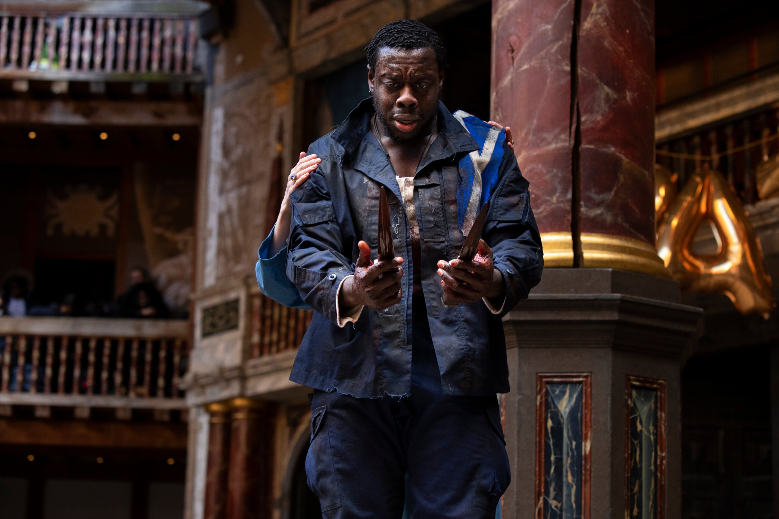 Ekow Quartey in Macbeth