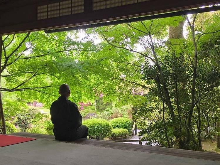 This Zen Buddhist temple in Kyoto is teaching Zazen meditation online